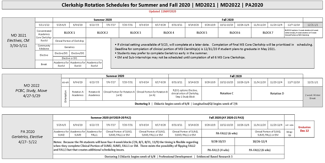 Fsu Calendar Fall 2021 Current Year Academic Calendar | College of Medicine