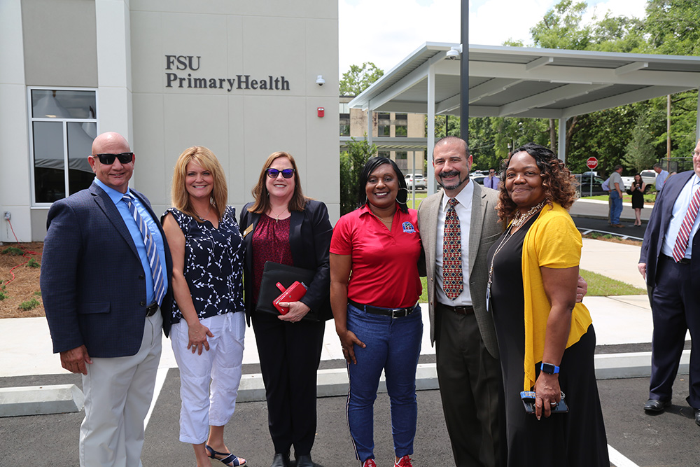 Attendees included Leon County Commission Chair Jimbo Jackson, Interim Practice Manager Sherri Swilley, Sabal Palm Elementary Principal Anicia Robinson and Leon Schools Superintendent Rocky Hanna