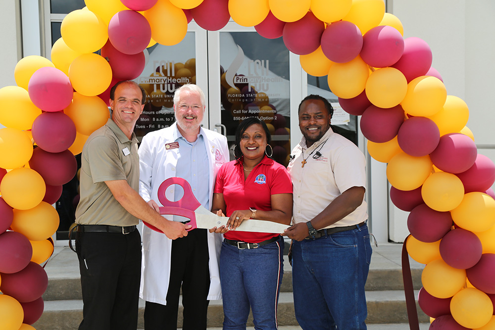 FSU PrimaryHealth Ribbon-Cutting 2