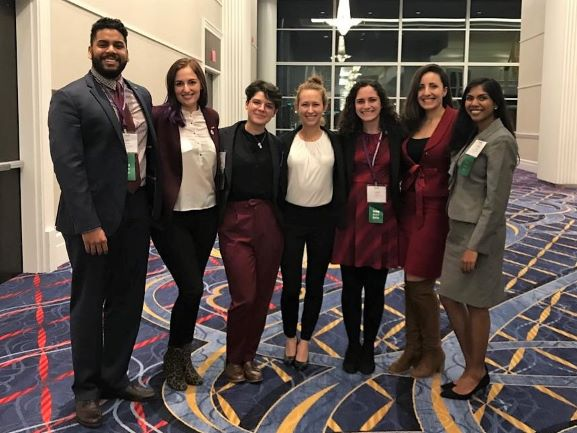 FSU Delegation at the 2018 AMA Medical Student Section Interim Meeting in National Harbor, MD.