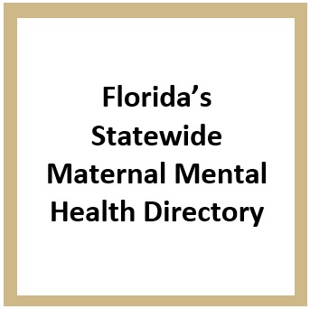 Florida's Maternal Mental Health Directory