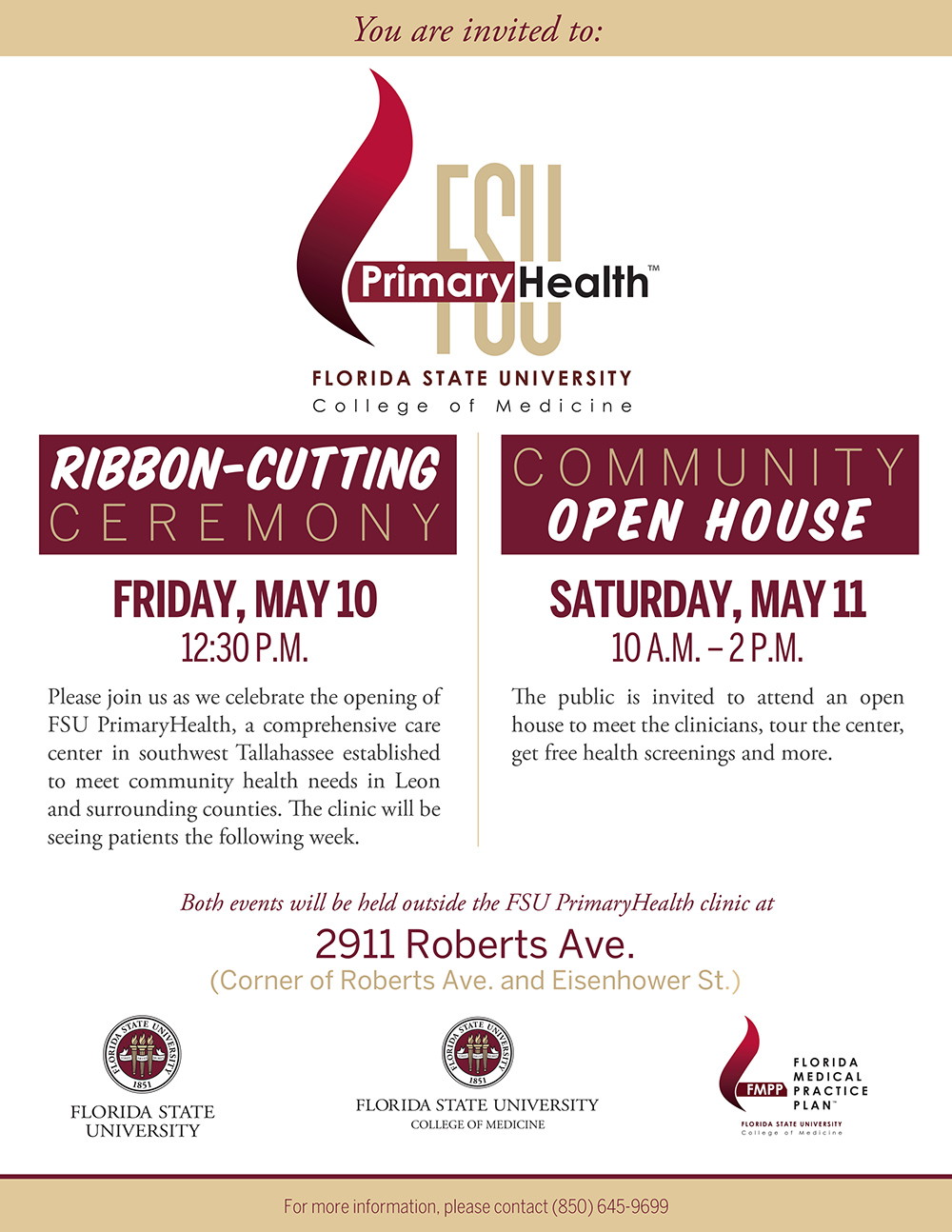 FSU PrimaryHealth Ribbon Cutting and Open House