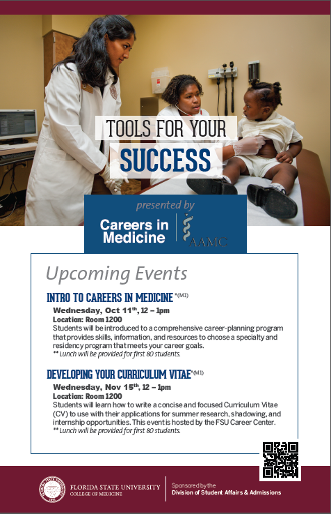 Toos for your success workshop poster