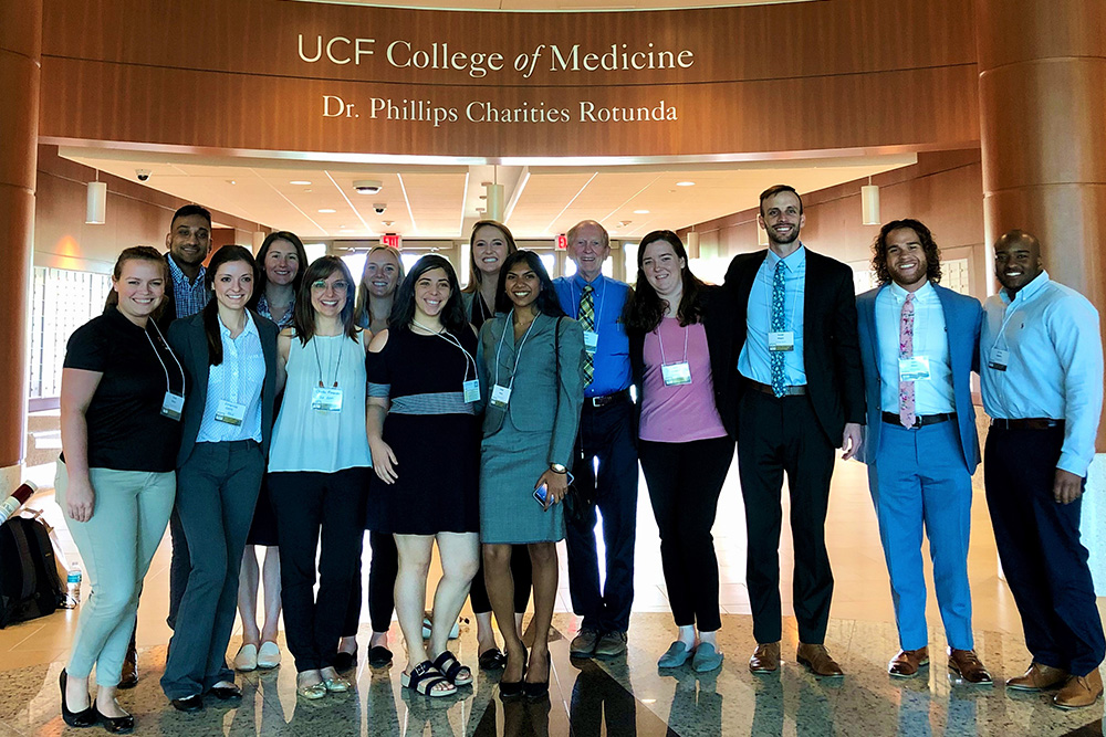 College of Medicine participants in Chapman Conference