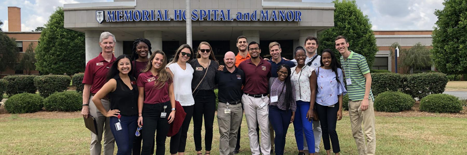 Students got a look behind the scenes at rural medicine in North Florida and South Georgia.