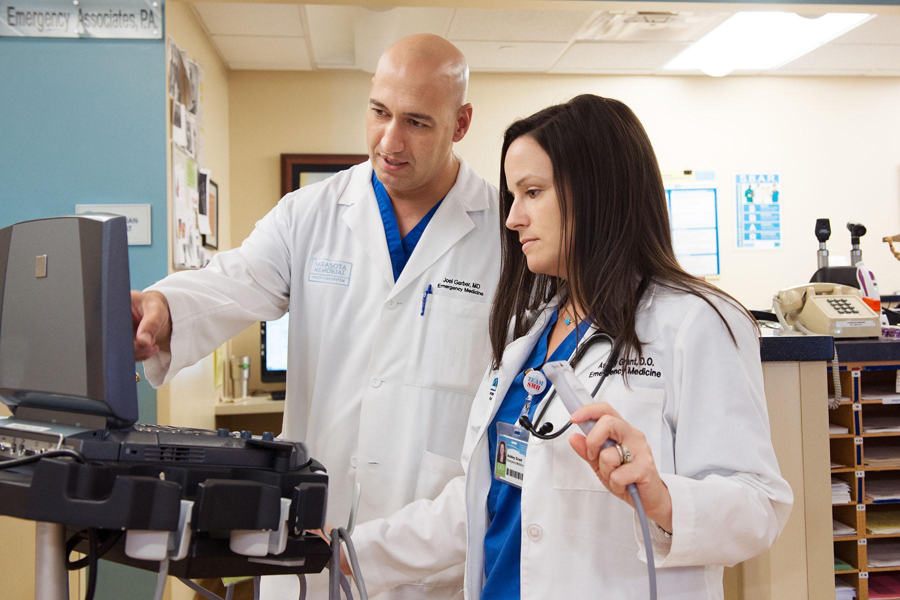 Emergency Medicine - Sarasota | College of Medicine