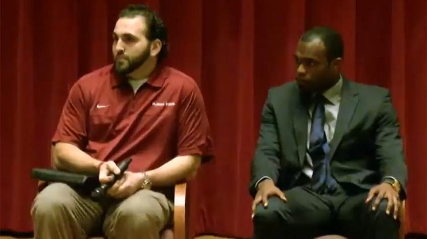 A Conversation with David Castillo and Myron Rolle
