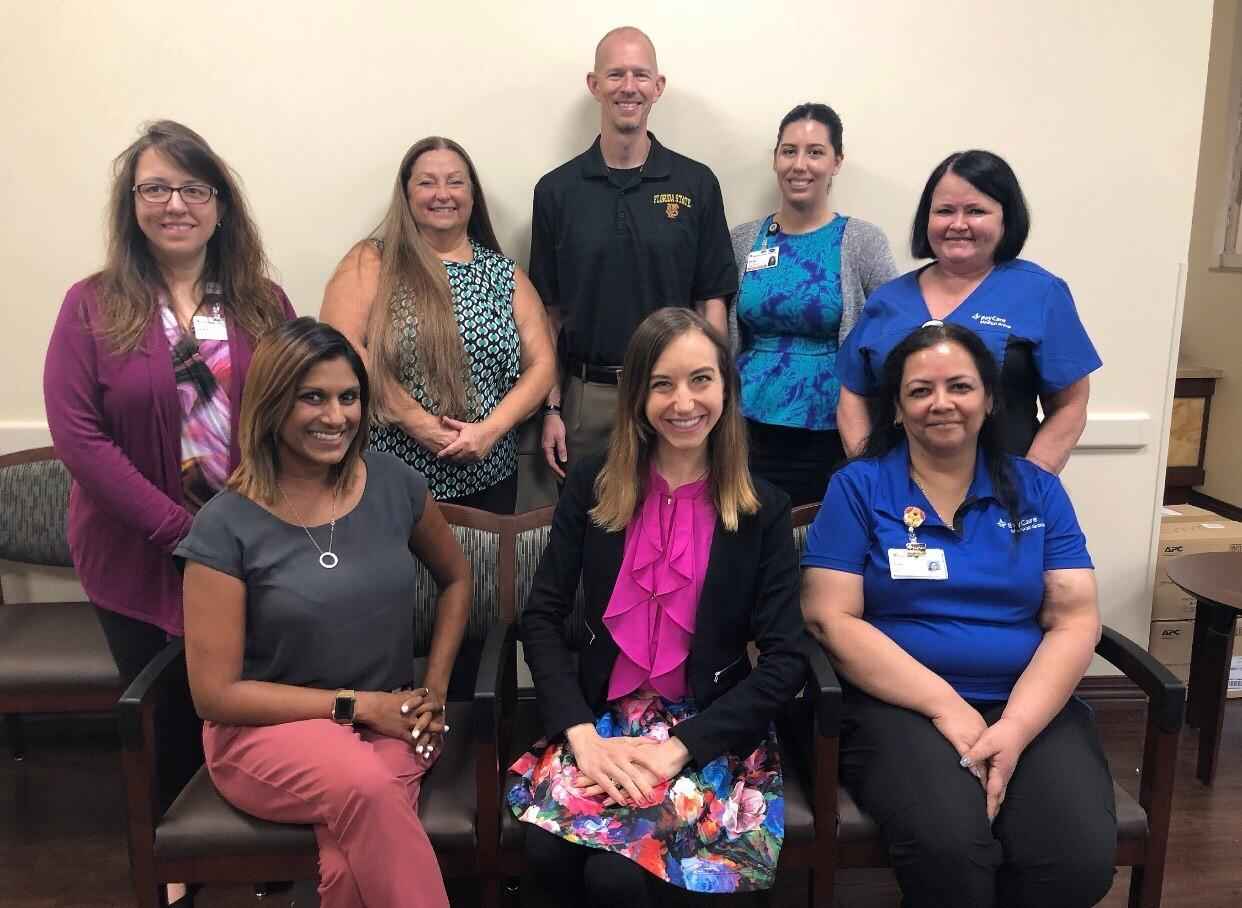 The new BayCare Medical Group Family Health Center staff