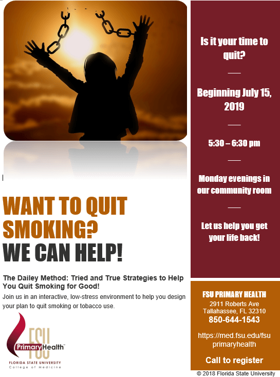 Quit Smoking Flyer