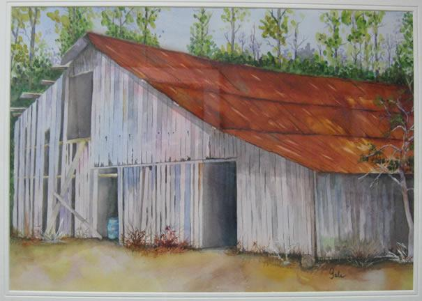 Rustic Red by Gale Poteat