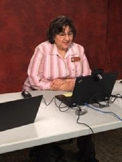 Photographed: Dr. Niharika Suchak during Telehealth testing day