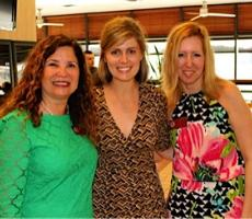 Elaine Geissinger, Dr. Nicole McCoy, Class of 2010, and Julie Peacock.