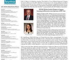 HIVMA Award Announcement