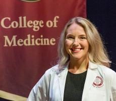 Katharyn Lindborg, who graduated from the IMS program in May 2018 with the first cohort of graduates, is now a first-year medical student at the FSU College of Medicine.
