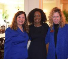 Elaine Geissinger, Dr. Brittany Crenshaw, and Julie Peacock