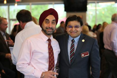Dr. Hardeep Singh, and Dr. Sandeep Rahangdale, Dean of the Tallahassee Regional Campus