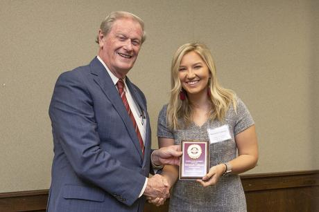 Savannah Calleson, IMS Undergraduate Humanitarian of the Year nominee