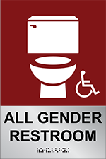 all gender restrooms